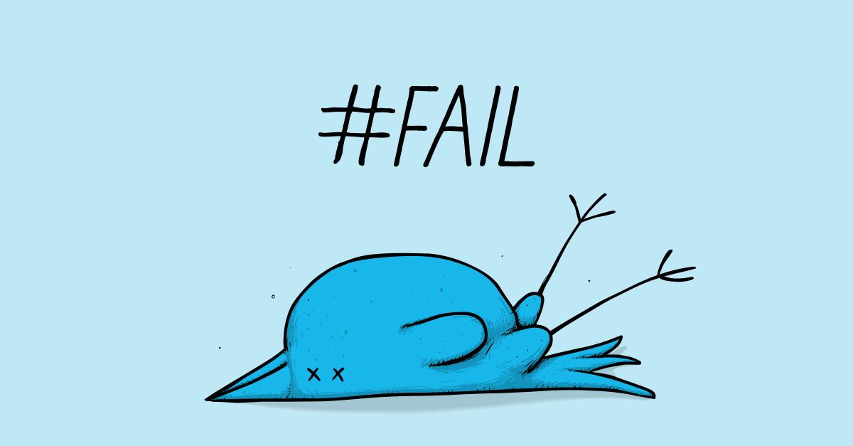 Twitter Fail!