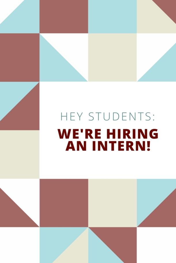 We're hiring!